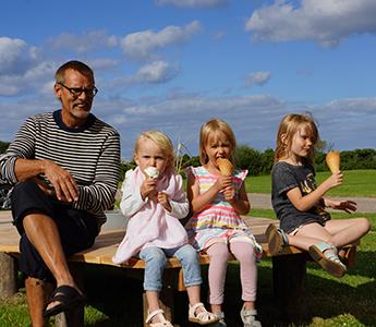 bedsteforældre og børn ferie